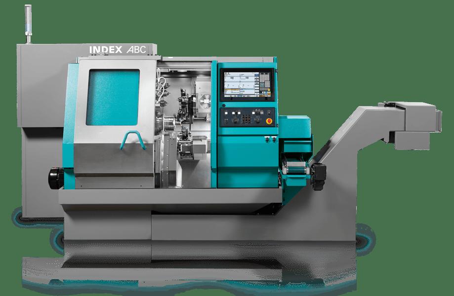 Durch die INDEX ABC Maschinen können wir sämtliche Drehteile von einfach bis komplex und bis zu Ø 65 mm produzieren.
