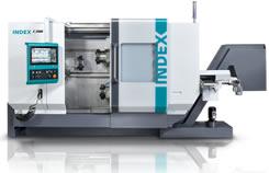Die Index C200 Maschinen eignen sich für komplexe Dreh- und Frästeile bis Ø 65 mm und 550 mm Drehlänge.