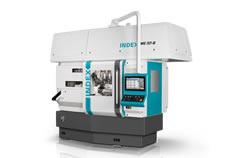 Mit den Index MS32 Maschinen lassen sich mittelkomplexe bis komplexe Drehteile bis Ø 32 mm und 80 mm Drehlänge fertigen.