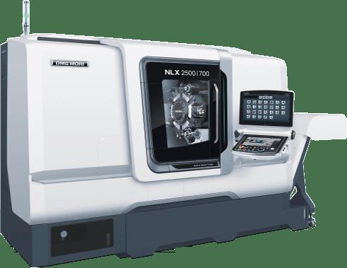 Die NLX 2500 / 700 eignen sich ideal für die Fertigung von komplexen Drehteilen bis 300 mm als Futterteil und Drehlänge 700 mm.