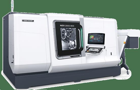 Mit der DMG MORI NZX-2000 können wir komplexe Drehteile bis 250 mm als Futterteil und Drehlänge 800 mm fertigen.