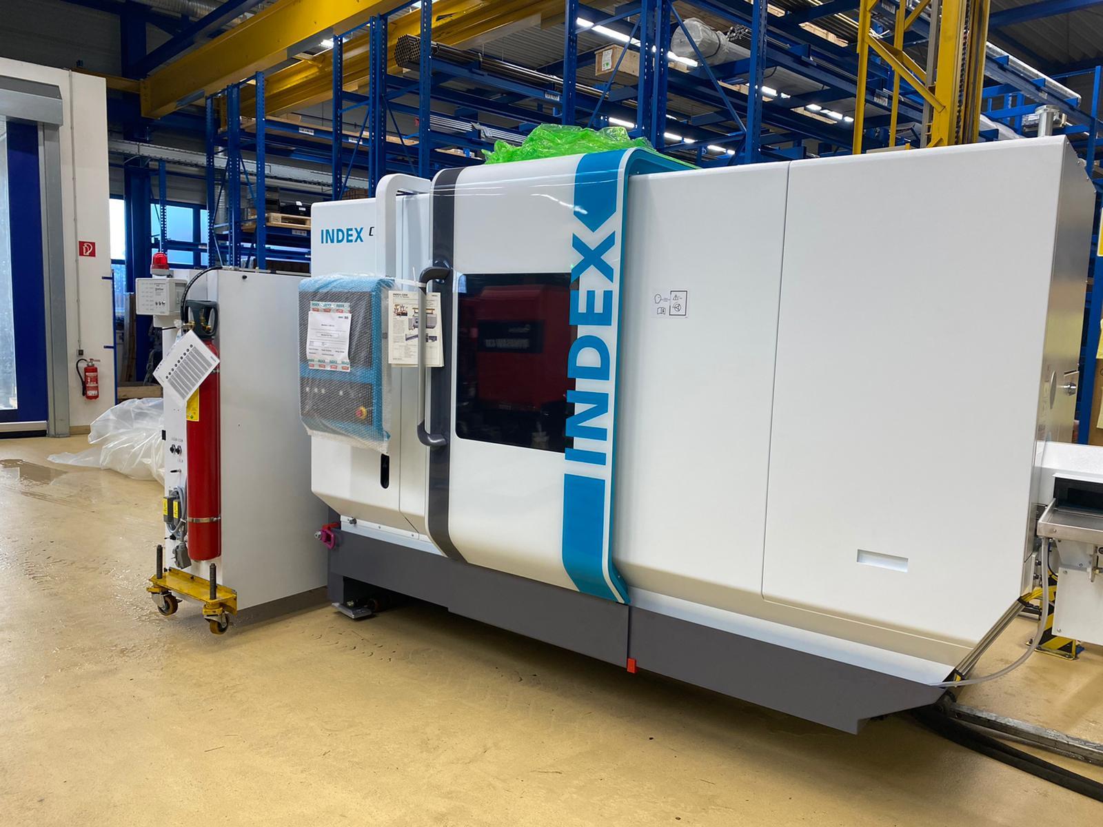 INDEX C 200 CNC Drehmaschine der HK Präzisionsteile GmbH